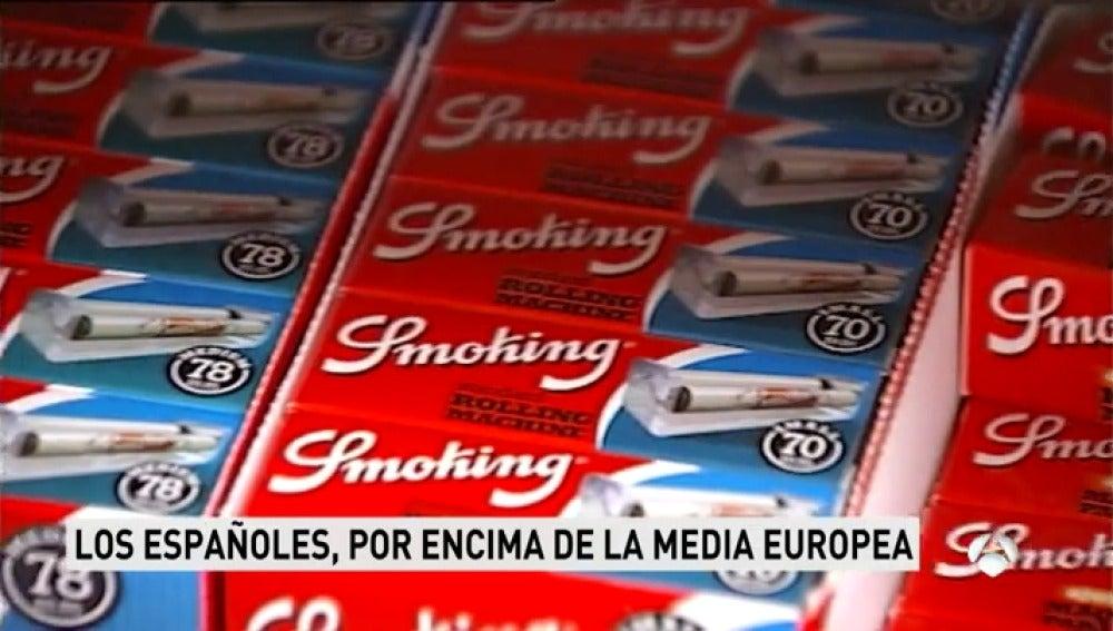 Frame 160.188571 de: El 28% de los españoles fuma, por encima del 26% de la media europea