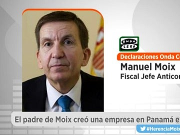 Manuel Moix, en Onda Cero