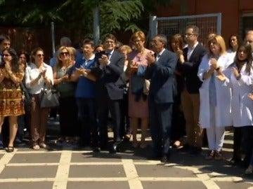 Frame 39.916165 de: Tres detenidos por agredir a un médico de un centro de salud de Salamanca