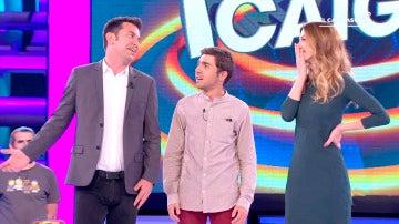 '¡Ahora Caigo!' despide a Cristina, copresentadora de Arturo Valls, con una bonita sorpresa