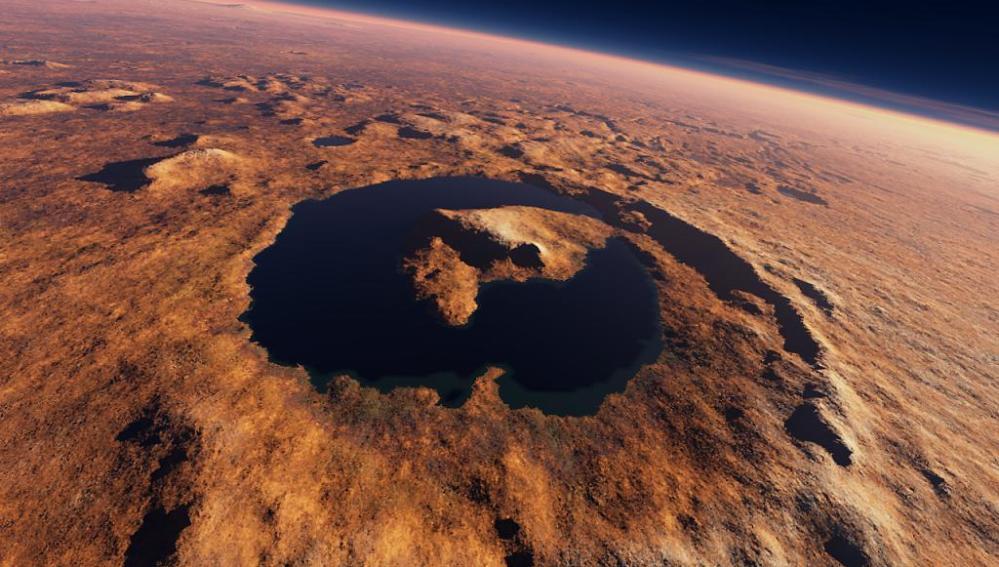 Curiosity descubre evidencias de un antiguo lago estratificado en Marte
