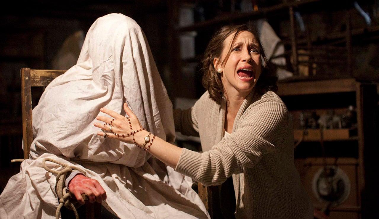 Imagen de la actriz Vera Farmiga en 'Expediente Warren'