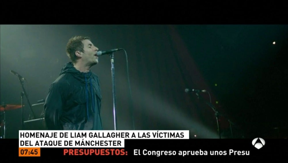 Homenaje de Gallagher