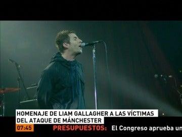 Homenaje de Gallagher