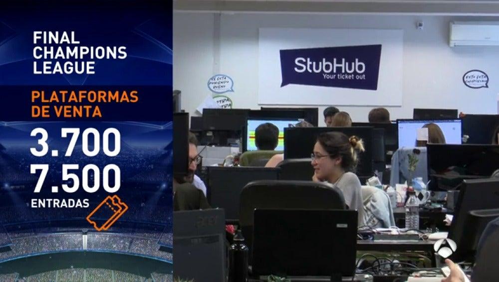 Frame 46.080797 de: Locura por conseguir una entrada para la final de Champions: ¡las más caras alcanzan los 30.000 euros!