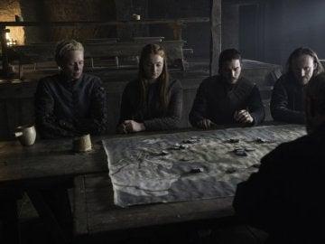 Los protagonistas de 'Juego de Tronos', muy aplicados
