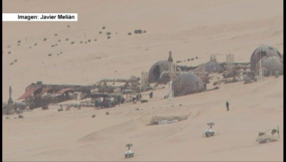 Frame 9.078995 de: Star Wars ya rueda en Fuerteventura