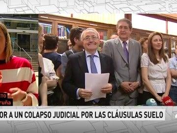 Frame 36.48483 de: Temor a un colapso judicial ante la avalancha de denuncias por las cláusulas suelo