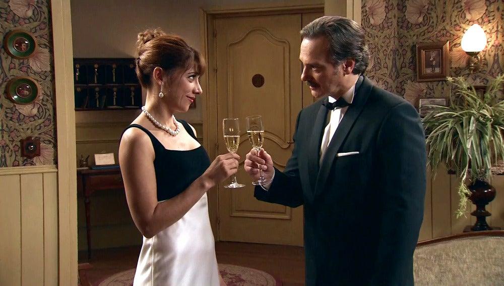 Henar y Barrantes disfrutan de una noche de gala en el hostal