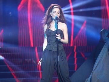 Patricia Aguilar toca la gloria cantando 'Europa' como Mónica Naranjo
