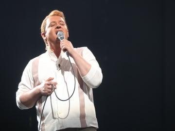Germán Scasso llena de pasión el plató con 'Unchained melody' de Righteous Brothers
