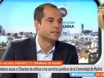 Ignacio Aguado, en Espejo Público
