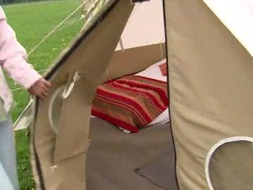 El Camping Ninja, en Cardiff