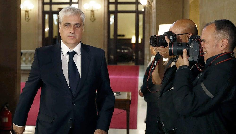 El diputado del PDeCAT y exconseller de Justicia, Germà Gordó