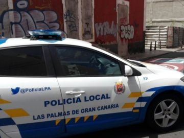 Coche de la policía local de Las Palmas de Gran Canaria
