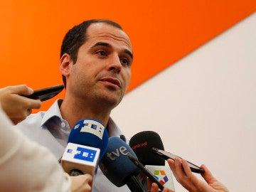 Ignacio Aguado, el portavoz de Ciudadanos en la Asamblea de Madrid