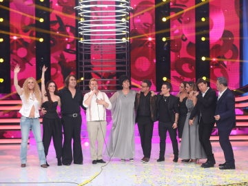 Germán Scasso se despide de sus compañeros como ganador en una actuación muy emotiva