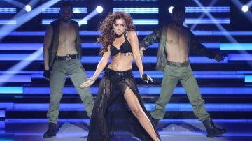 Melody presume de 'Baby boy' transformada en Beyoncé