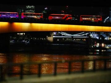 El Puente de Londres tras el atropello múltiple perpetrado