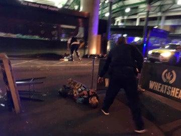 Atacante abatido en Londres