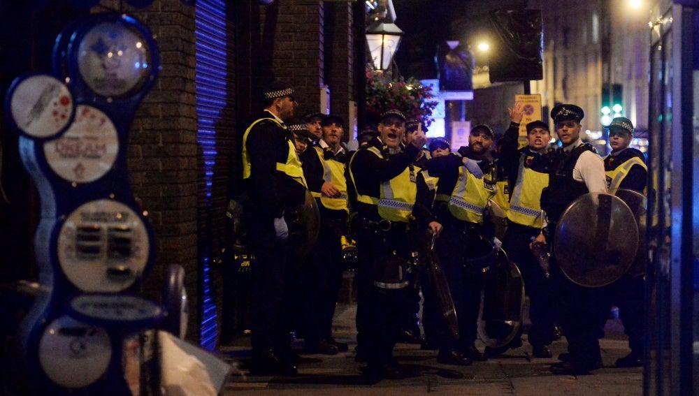 La policía moviliza a la población de Londres