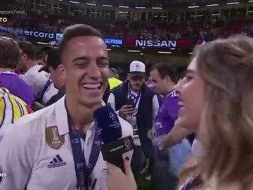 """Frame 6.284192 de: Lucas Vázquez, tras ser descartado para la final: """"Zidane me dijo que lo sentía"""""""