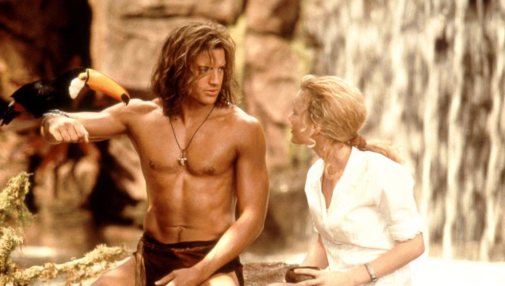 Brendan Fraser en 'George de la jungla'