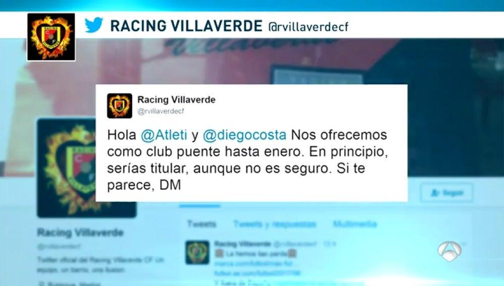 Frame 7.007336 de: Las divertidas 'propuestas' de Diego Costa para jugar hasta enero en caso de que fiche por el Atlético