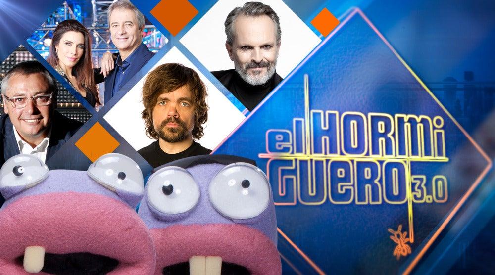 Michael Robinson, Miguel Bosé, Peter Dinklage, Pilar Rubio y Manolo Lama vivirán la próxima semana unos momentos muy divertidos en 'El Hormiguero 3.0'