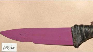 Los cuchillos utilizados por los terroristas de Londres