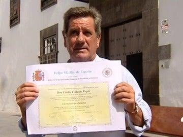 Emilio Collazos, un ladrón convertido en abogado