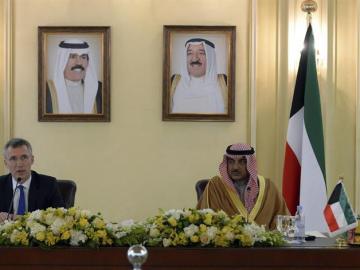 El ministro kuwaití de Exteriores, Sabah Jaled al Sabah.