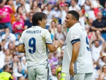 Morientes, con Ronaldo
