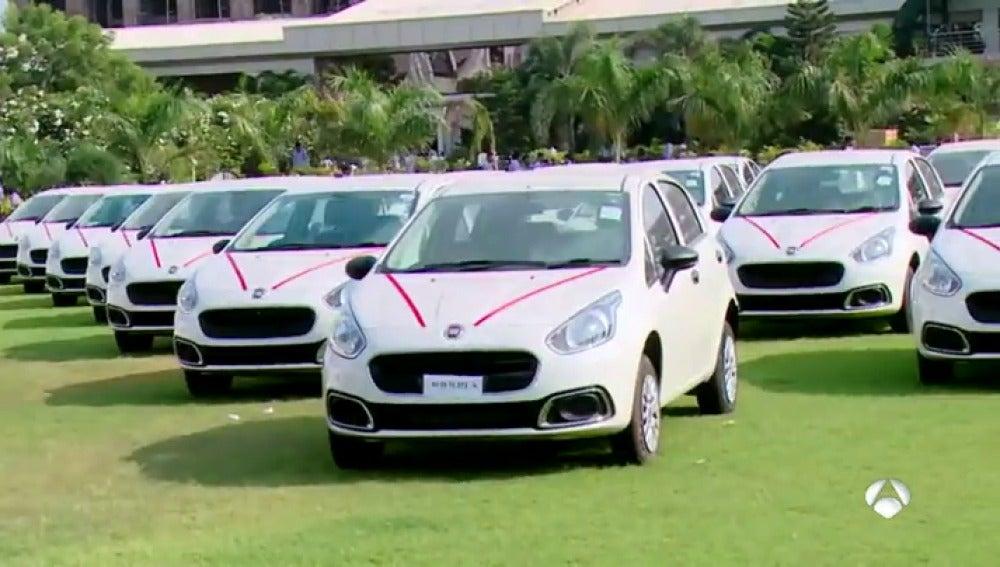 Regala mil coches a sus empleados