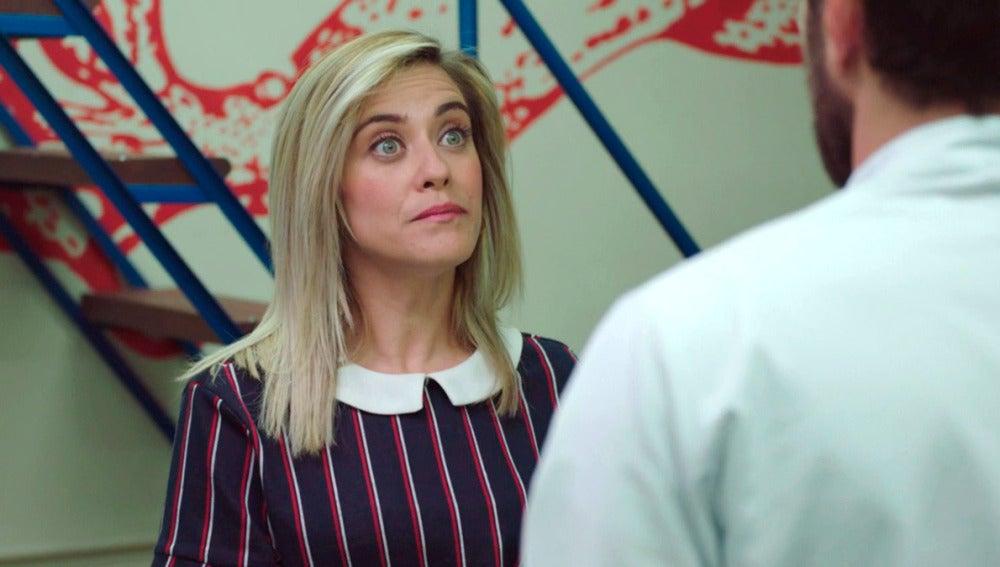 Carmen le pide a Iñaki que sea honrado y le cuente la verdad a su madre