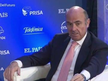 Frame 7.630852 de: De Guindos: La economía española está creciendo más de lo esperado