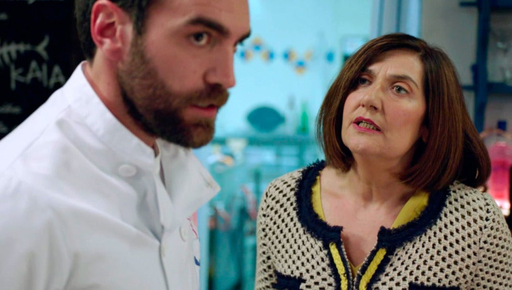 Iñaki estalla confesándole a su madre su desliz con Gotzone