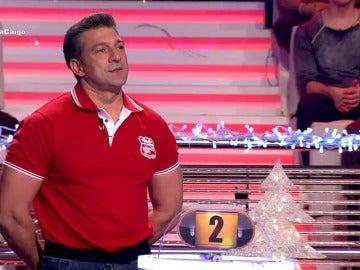Frame 36.924086 de: Jorge, el vigilante de seguridad que tenía miedo a caer en ¡Ahora Caigo!