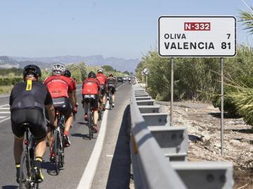 Carretera en la que han muerto cuatro ciclistas