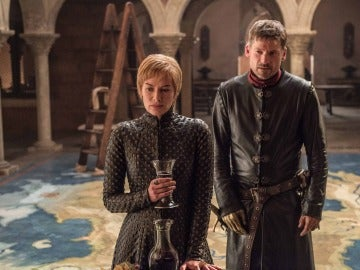 Cersei y Jamie Lannister en 'Juego de Tronos'