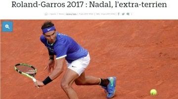 La portada de Le Parisien tras el décimo Roland Garros de Nadal
