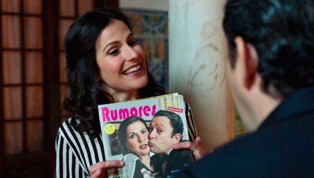 La boda de Trini y Cristóbal, portada de revistas del corazón
