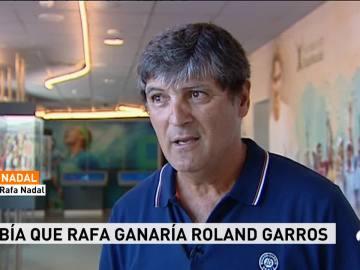 Toni Nadal, tío y entrenador de Rafa Nadal