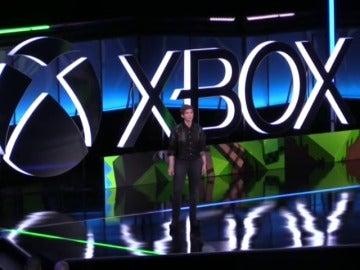 Frame 29.079199 de: Microsoft presenta su nueva consola, la Xbos One X