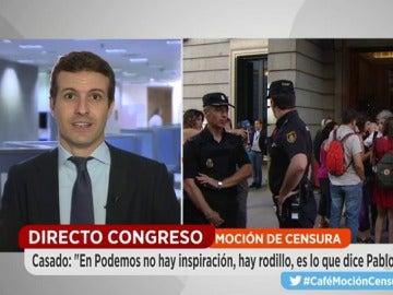 vicesecretario general de Comunicación del PP