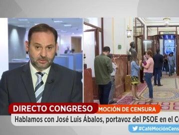 José Luis Ábalos, secretario parlamentario del PSOE