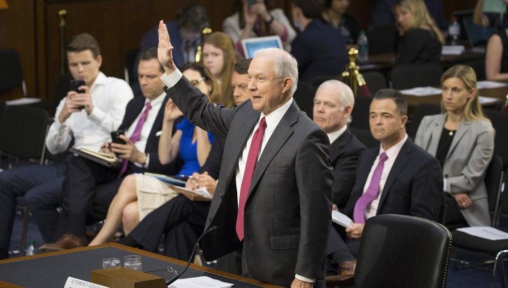 El fiscal general estadounidense, Jeff Sessions