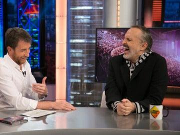 Miguel Bosé confiesa el mejor piropo que le han echado nunca