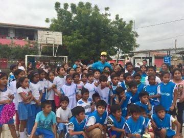 Sergio Ramos, embajador de Unicef en Perú