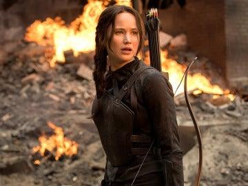 Katniss en 'Los Juegos del Hambre'